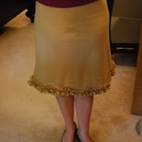 Ruffle Bottom Skirt Tutorial