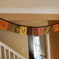 Tutorial Week: No-Sew Fabric Birthday Banner