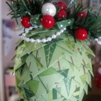RTW: Paper Pine Cones TUTORIAL