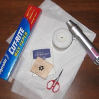 RTW: Tissue Paper Transfer Candles