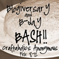 Blogiversary/B-day BASH