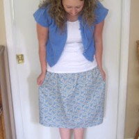 RTW: Easy Skirt for All AgesTUTORIAL