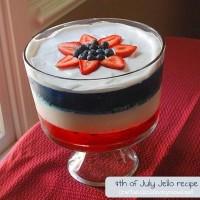 4th of July jello