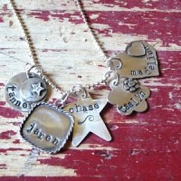 Lora Elizabeth Hand Stamped Jewelry GIVEAWAY (ended)
