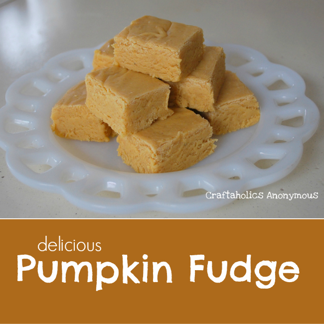 Pumpkin Fudge Recipe. This fudge is rich and seriously addictive! Fabulous Fall recipe.