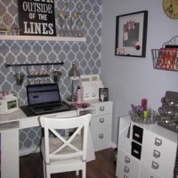 Crafty Space: Jenn from Clean and Scentsible's Craft Room