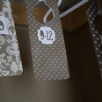 Baby Clothes Size Dividers {Kristen from Life with the Ellwoods}