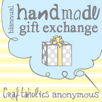 Handmade Gift Exchange Linky Party!!