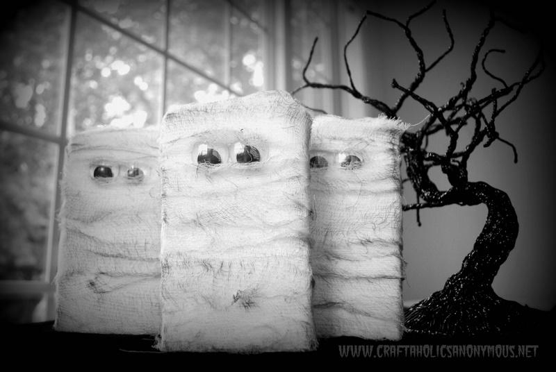 DIY wood mummy