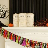 Halloween Fabric Banner TUTORIAL