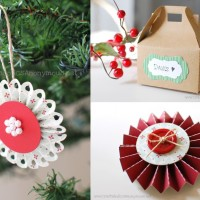 Paper Lolli Ornaments + Adorable Paper Box