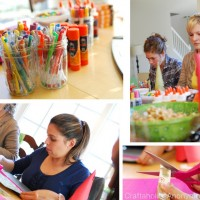 Crafting Party + a chance to win your own Craft Party Pack from Elmers!