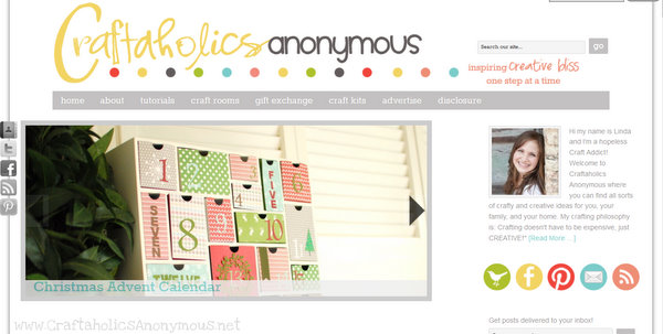 Craftaholics Anonymoous craft blog