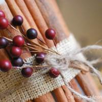 Cinnamon Stick Candle TUTORIAL