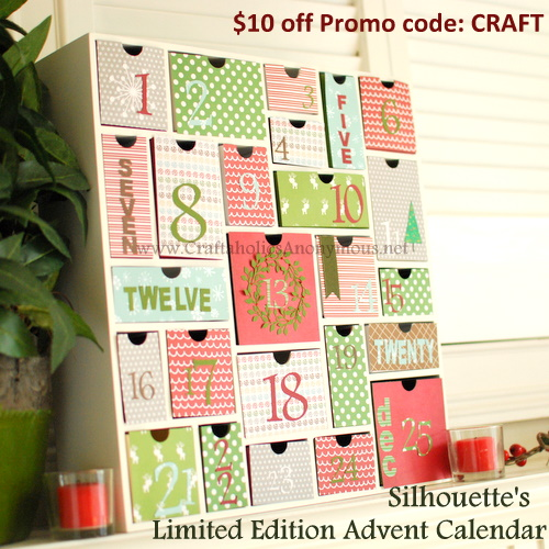 discount on silhouette advent calendar