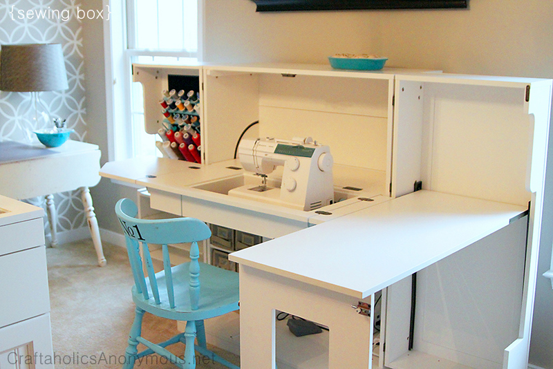 scrapbox sewing box