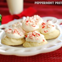 Peppermint Pretties {a Christmas Cookie recipe}
