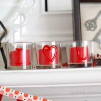 Valentine's Day Votives + $60 DecoArt GIVEAWAY!!