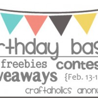 Announcing: My Birthday Bash