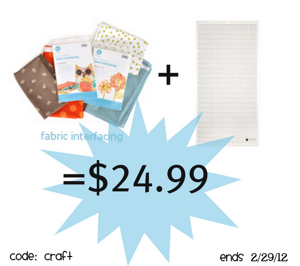silhouette interfacing promotion