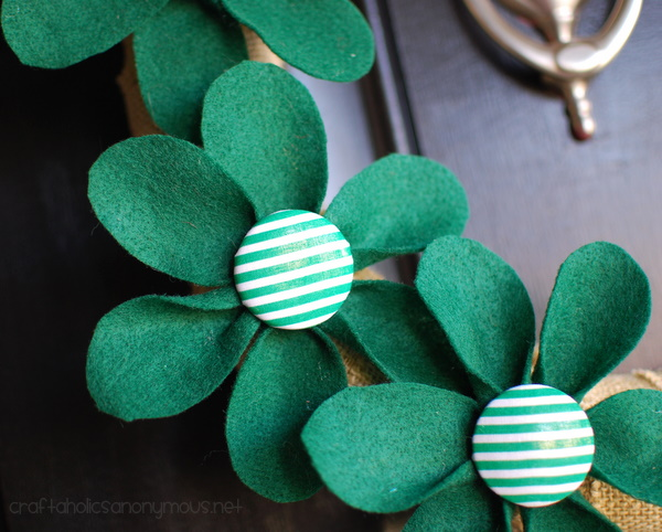 st paterick's day green flowers