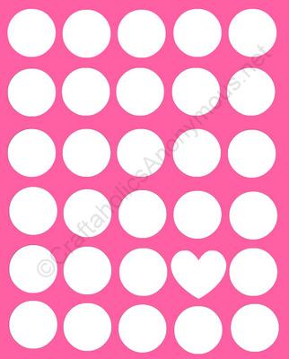 polka dot printable
