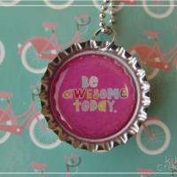 Bottle Cap Necklaces TUTORIAL + free Printable {Guest: Kiki Creates}