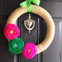 Spring Wreath + Tutorial