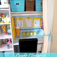 Lina's Craft Closet TOUR