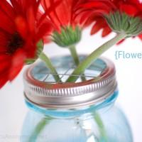 How to Make Mason Jar Flower Frog Lids TUTORIAL