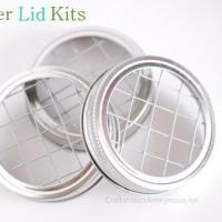 April Craft Kits: Mason Jar Flower Lids!