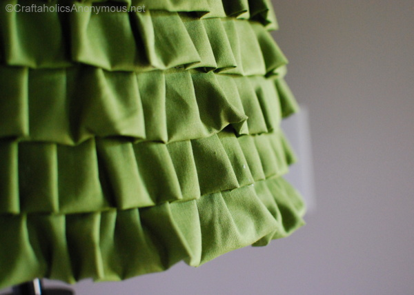 ruffle lamp shade
