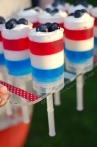 4th of july push-up pops