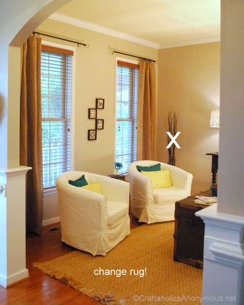 decorating a sitting room