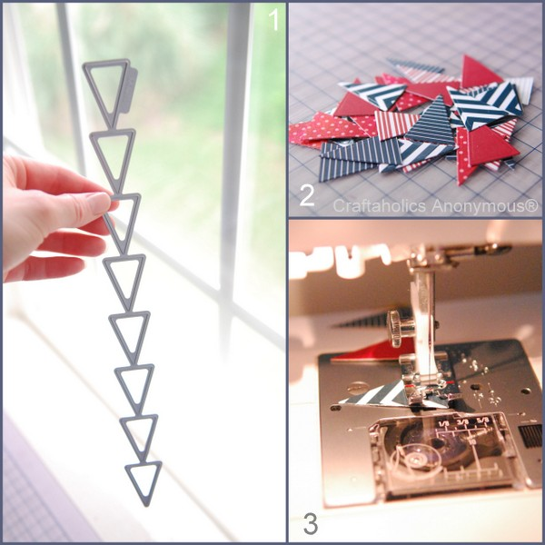 How to Make a Paper Bunting