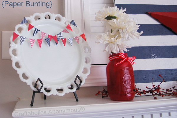How to Make Paper Bunting
