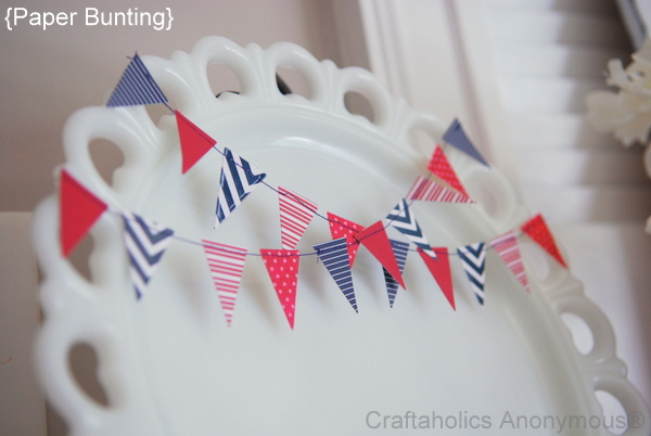 Paper Bunting Banner