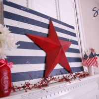 Patriotic Star and Stripes Sign TUTORIAL
