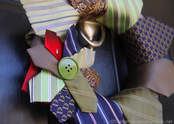 tie flower