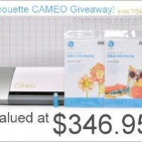 Silhouette Fabric Deal + CAMEO GIVEAWAY!