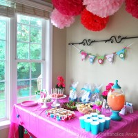 Diapers & Bows Baby Shower