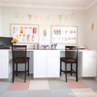 Craft Room TOUR with How to Nest for Less