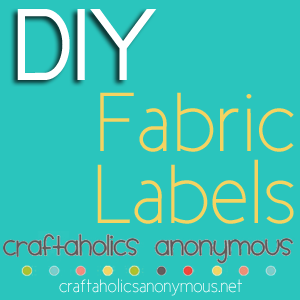 how to make clothing labels