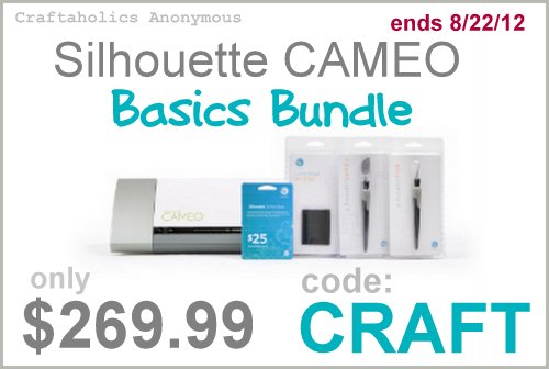 silhouette cameo discount code