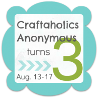 Announcing Craftaholics Anonymous Blogiversary #3