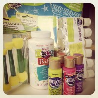 $50 DecoArt Crafting Supplies GIVEAWAY