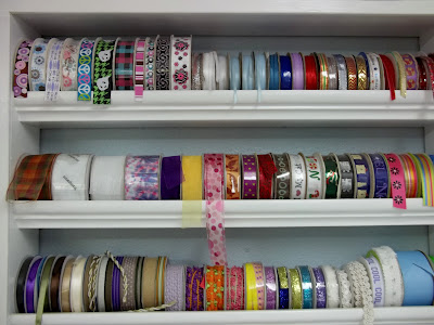 moulding ribbon storage