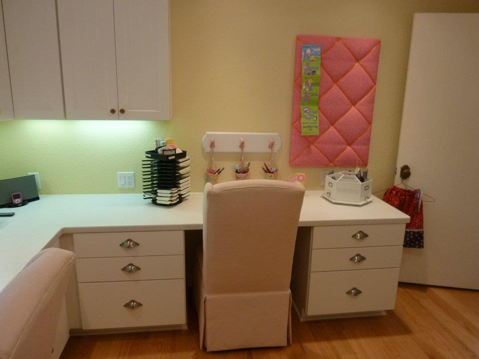 craft room work space