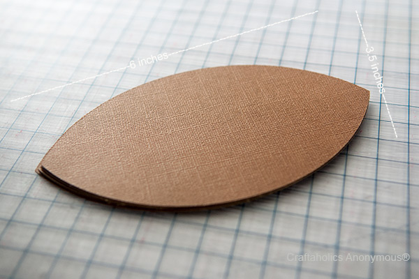 brown paper footballs