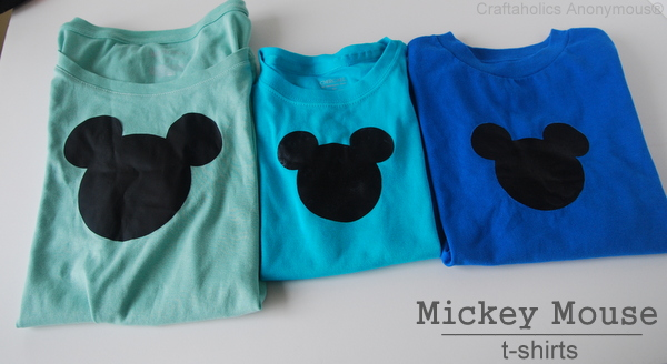 Craftaholics Anonymous 174 Mickey Mouse T Shirts